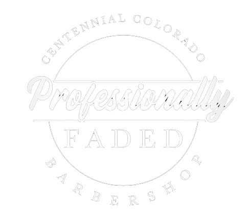 Professionally Faded Barbershop Logo
