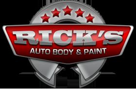 Rick's Auto Body & Paint Logo