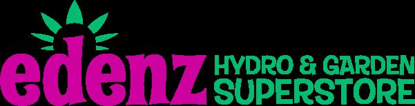 Edenz Hydro and Garden Superstore Logo