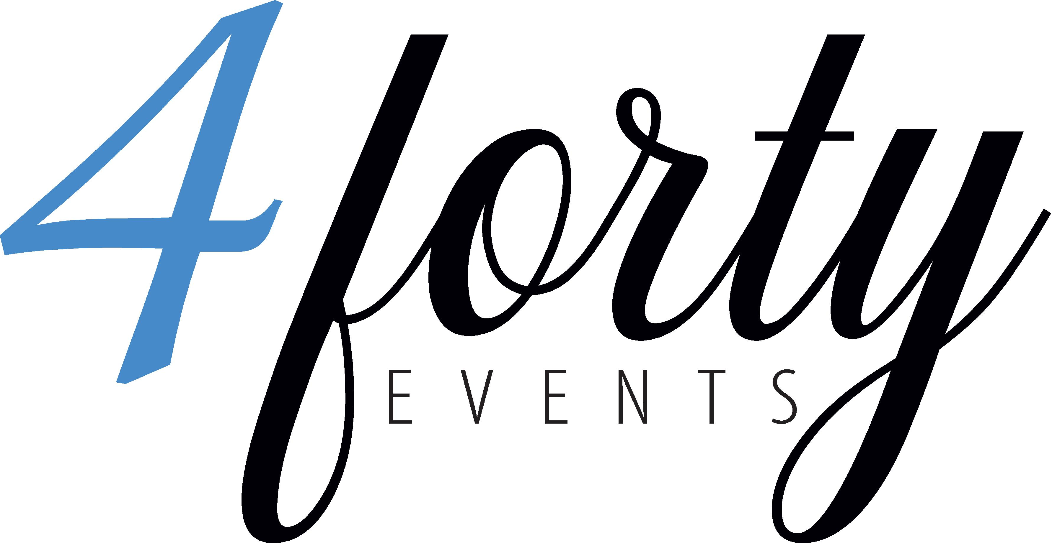 4forty EVENTS Logo