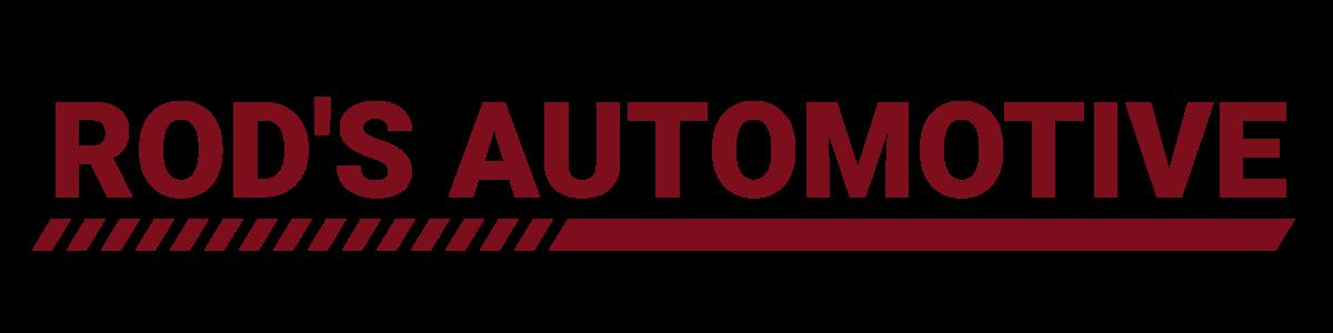 Rod's Automotive Logo