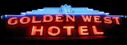 Golden West Apartments Logo