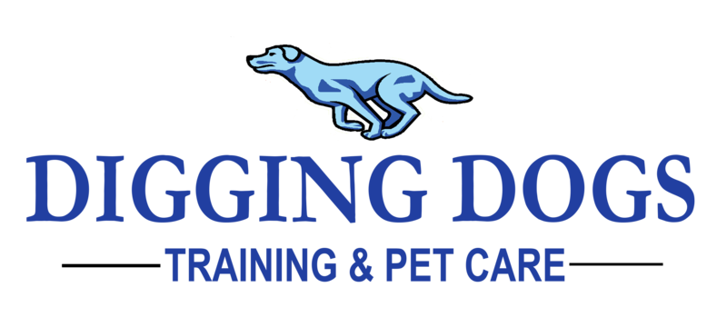 Digging Dogs Daycare & Boarding Logo