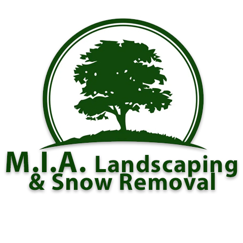 M.I.A. Landscaping & Snow Removal Logo
