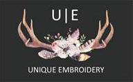 Unique Embroidery Logo