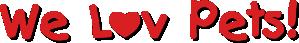 We Lov Pets Logo