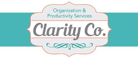 Clarity Co., LLC | Organization & Productivity Services Logo