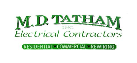 M. D. Tatham Electrical Contractors Logo