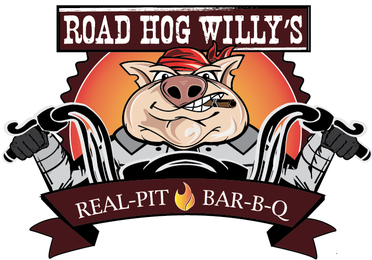 Road Hog Willy's Real Pit Bar-B-Q Logo