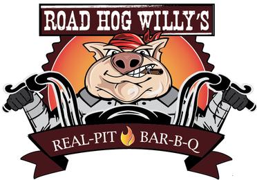 Road Hog Willy's Real Pit Bar-B-Q Logo