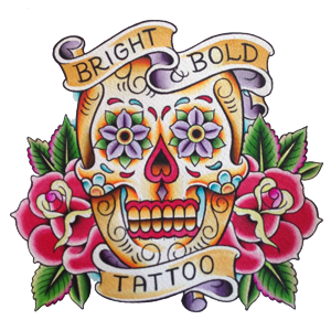 Bright and Bold Tattoo Logo
