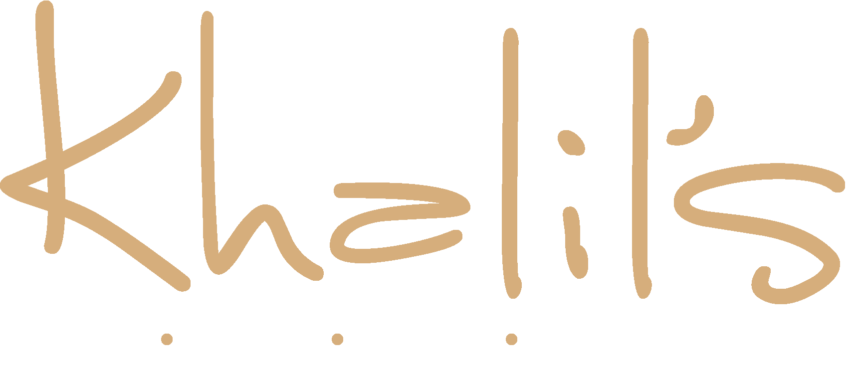 Khalil's Logo