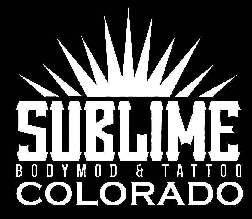 Sublime Colorado Body Mod And Tattoo Logo