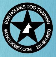 K9 Obey Dog Training by Bob Holmes Logo
