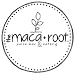 The Maca Root Juice Bar & Eatery Logo