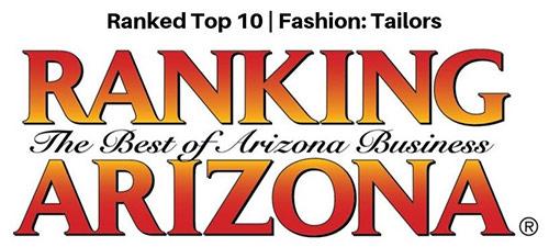 2019 Ranked Top Ten | Fashion: Tailoring Award for Ranking Arizona award