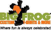Big Frog Custom T-Shirts & More of San Antonio NW Logo