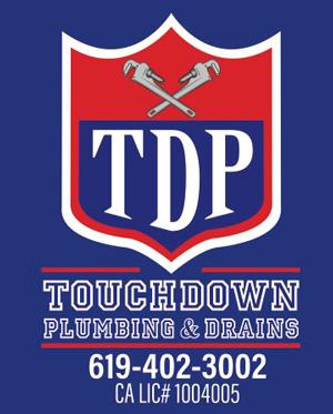 Touchdown Plumbing & Drains Logo
