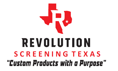 Revolution Screening Texas Logo
