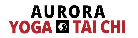 Aurora Yoga & Tai Chi Logo