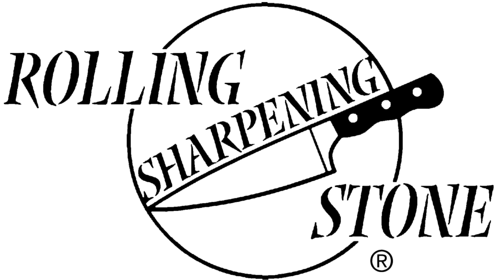Rolling Sharpening Stone Mobile Knife Sharpening Logo