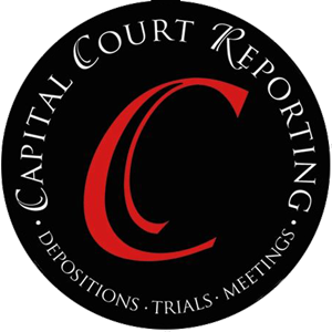 Capital Court Reporting Logo