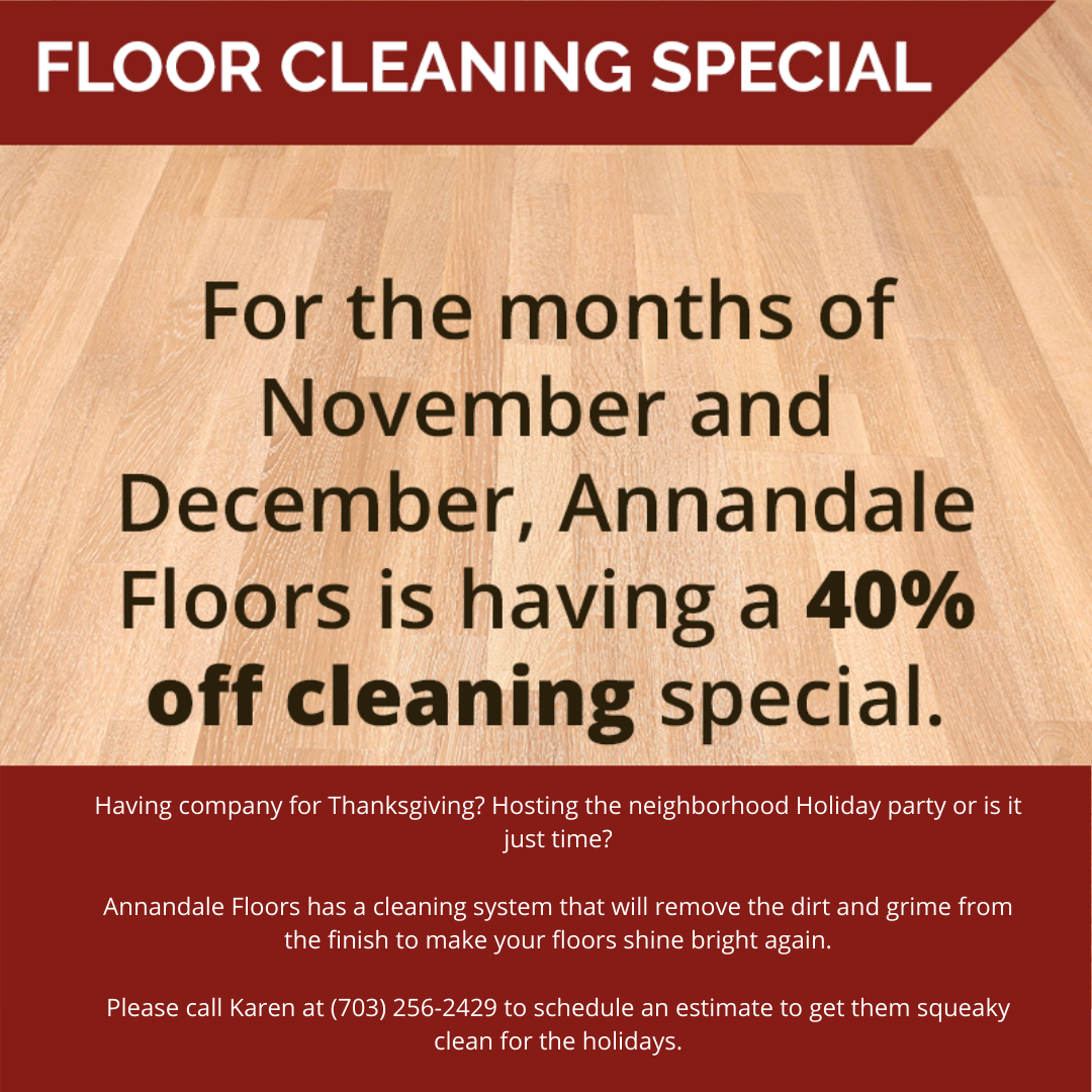 40% Off Cleaning Sale
