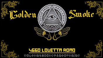 Golden Smoke & Vape Logo