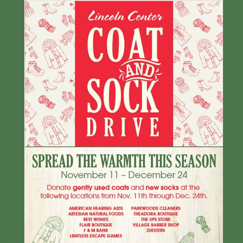 coat and sock drive