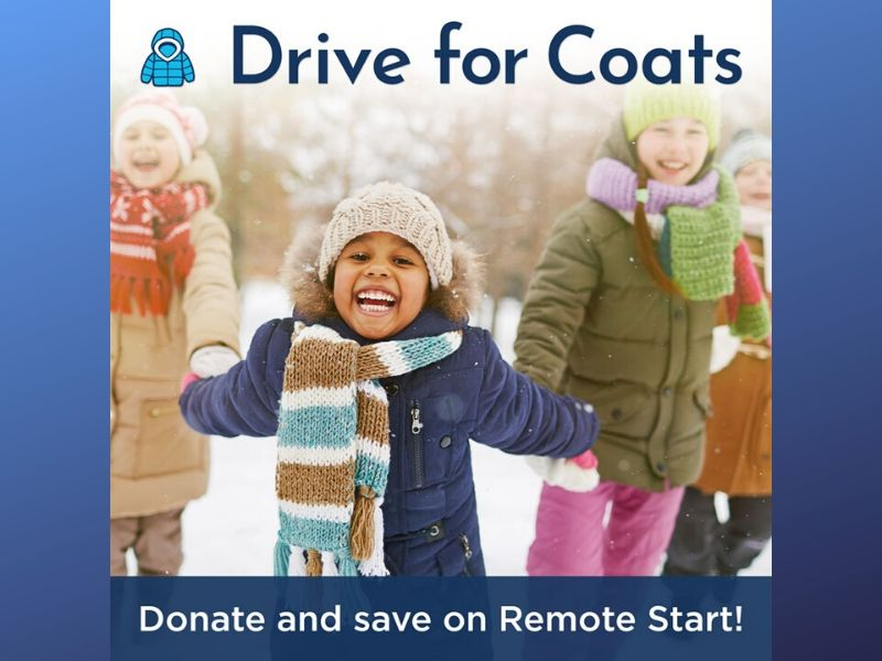 Donate and save on remote start!