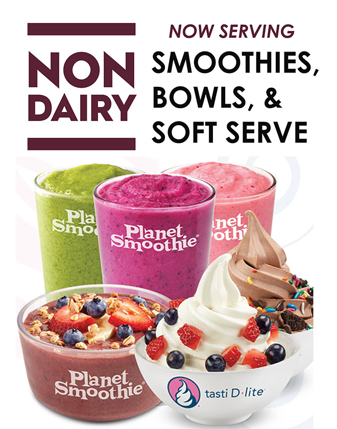Now serving smoothies, bowls, & soft serve