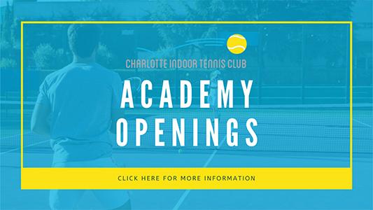 Academy openings