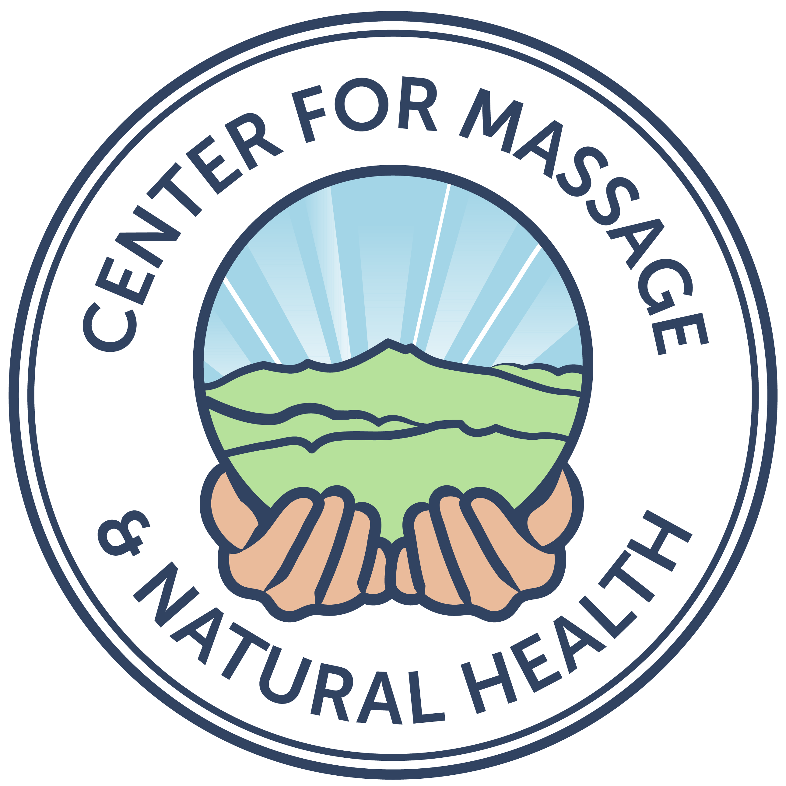 Center for Massage & Natural Health Logo