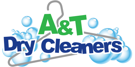 A&T Dry Cleaners Logo