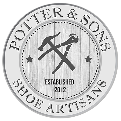 Potter & Sons Shoe Repair Logo