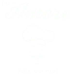 That's Amore Pizza and Chicken Logo