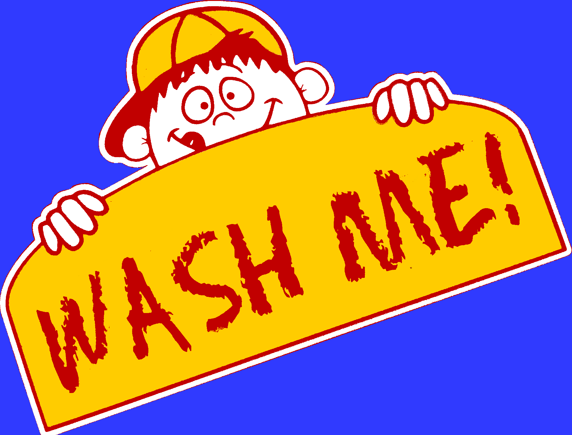Wash Me Car Wash Logo
