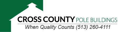 Cross County Pole Building Logo