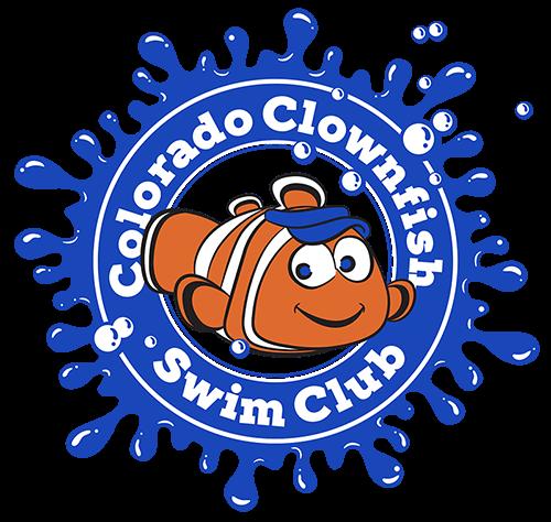 Colorado Clownfish Swim Club Logo