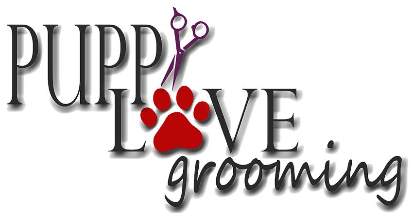 Puppy Love Grooming Logo