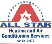 All Star Heating & Air Conditioning Services Logo