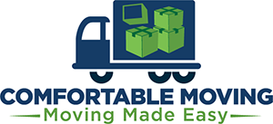 Comfortable Moving Logo