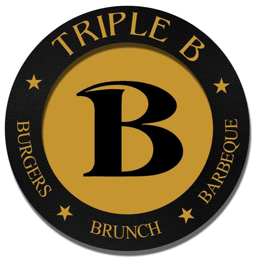 Triple B - BURGER'S BRUNCH BBQ Logo