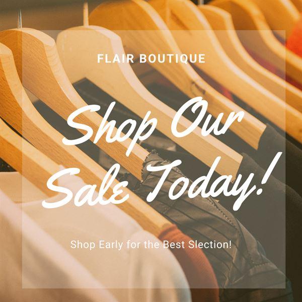 Shop Our Sale Today!