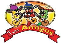 Tres Amigos Mexican Restaurant Logo