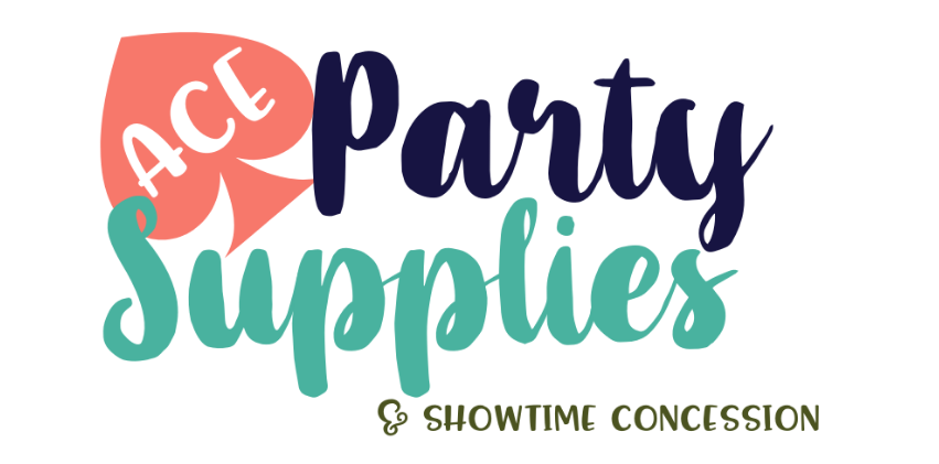 Ace Party Supplies & Showtime Concession Logo