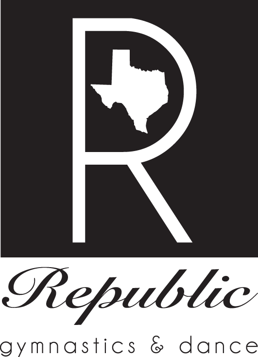Republic Gymnastics & Dance Logo