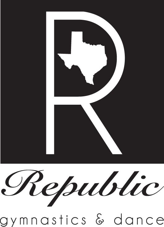 Republic Gymnastics & Dance Logo