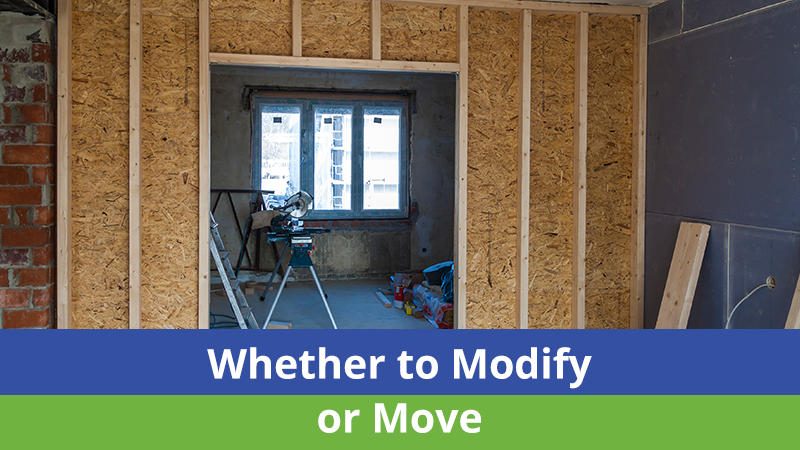 Whether to Modify or Move