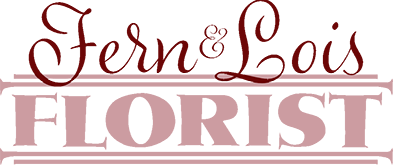 Fern & Lois, Florist Logo